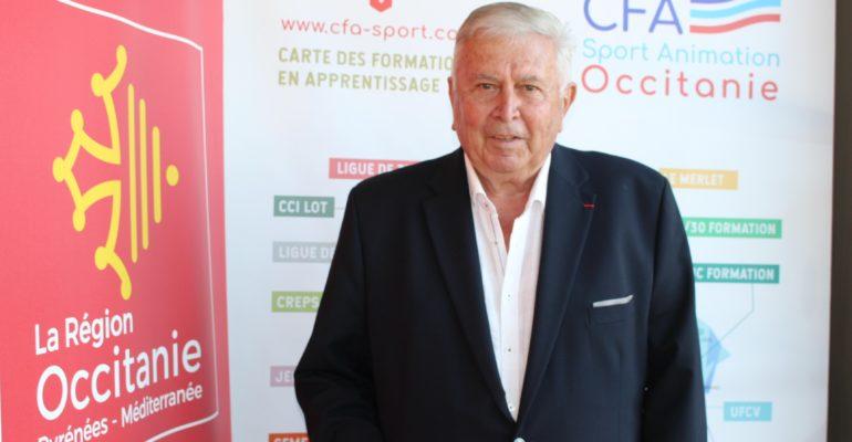 Jacques Salvat, nommé Président d'Honneur du CFA